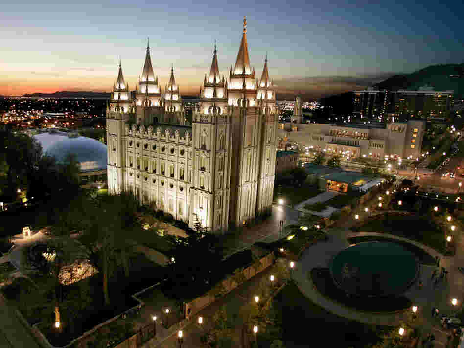 The money Mormons tithe goes to The Church of Jesus Christ of Latter-day Saints headquarters in Salt Lake City, Utah, and then is distributed to congregations around the world.