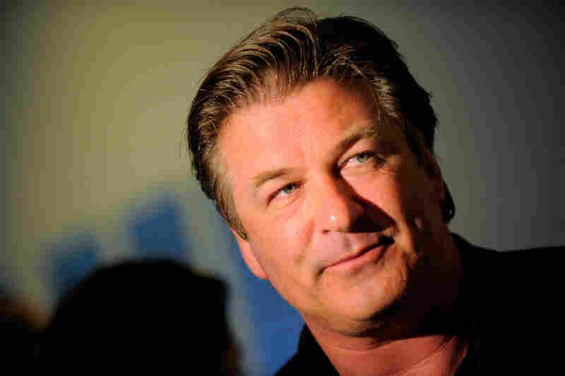 Actor Alec Baldwin speaks to the media at Talking Tough & Singing Soft at The Museum of Modern Art on June 21, 2010 in New York City.