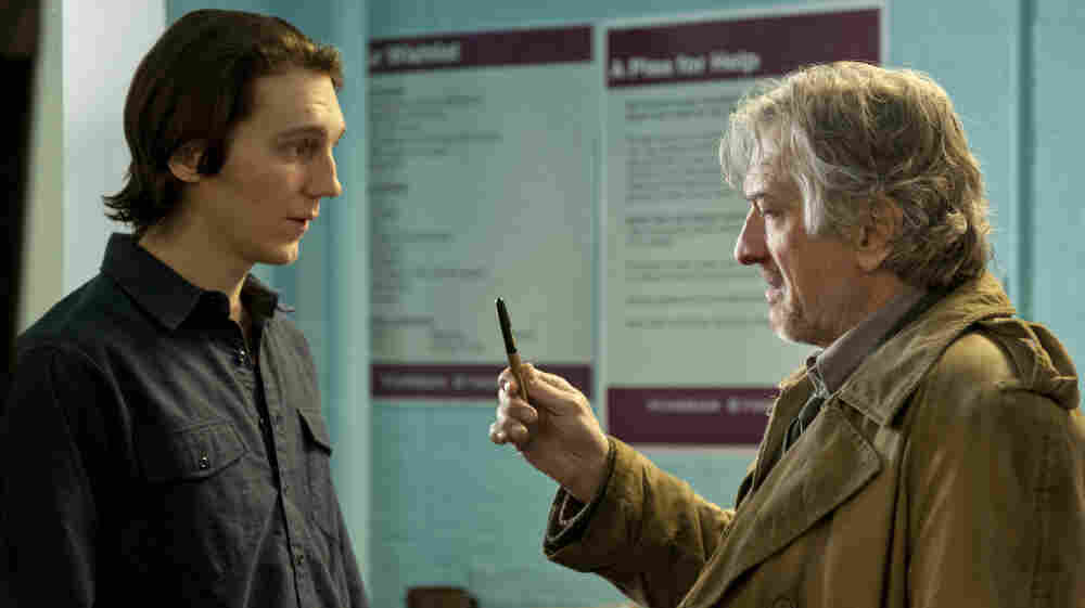 After almost two decades of estrangement, fractious writer Jonathan Flynn (Robert De Niro, right) gets in contact with his adult son Nick (Paul Dano) when he's forced to leave his apartment.