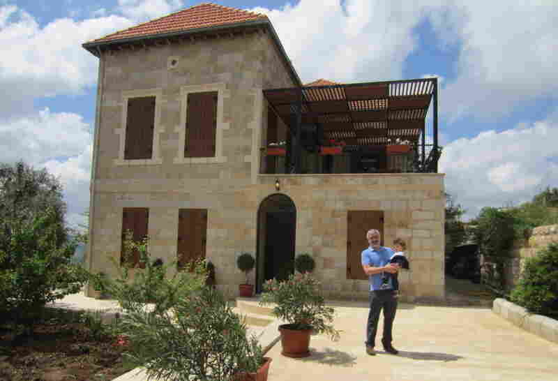 Wall Design Lebanon : Anthony shadid finding peace in a house of stone npr