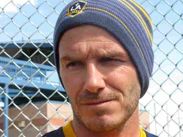 The Galaxy's David Beckham says he's glad to give up a grueling travel schedule for a few weeks in Tucson.