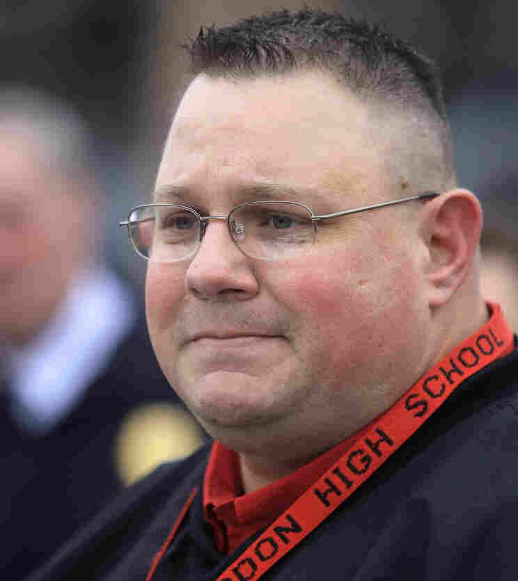 Chardon High School assistant football coach Frank Hall.