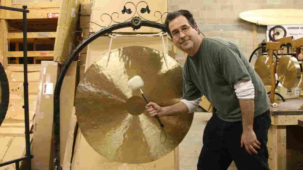 Comedy writer Andrew Borakove left California for Lincoln, Neb., to sell gongs.