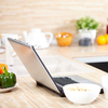 The laptop is replacing the recipe box in many American kitchens.