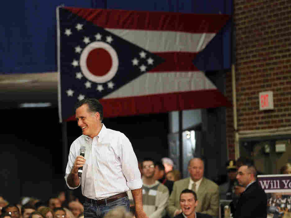 Mitt Romney at a town-hall style meeting in Bexley, Ohio, Wednesday, Feb. 29, 2012.