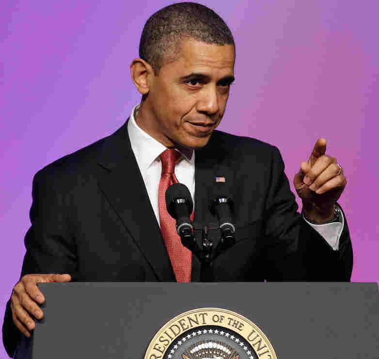 President Obama on Tuesday during a speech at the United Auto Workers' National Community Action Program Legislative Conference in Washington, D.C.