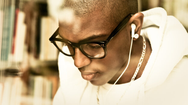 A song that was mastered for a digital file could make library listening sound better.
