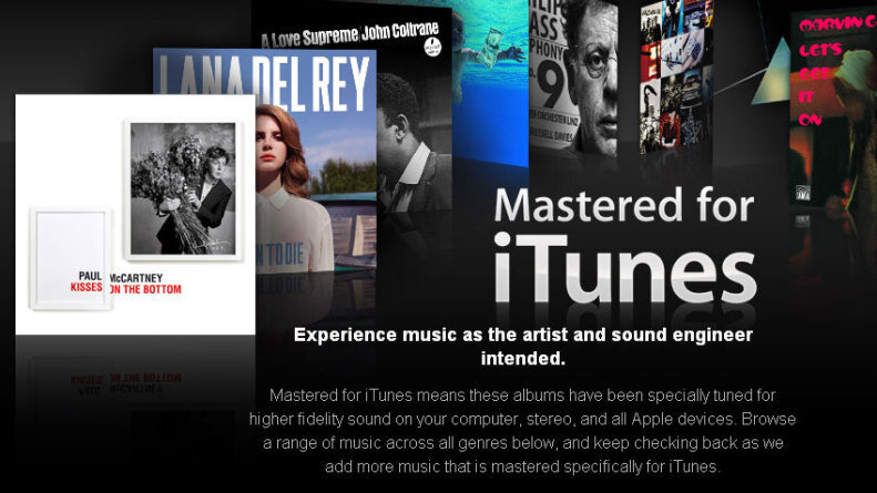 What 'Mastered For iTunes' Really Means : The Record : NPR