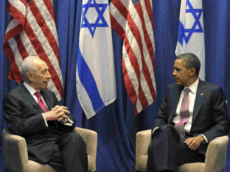 President Obama meets with Israeli President Shimon Peres, Sunday, March 4, 2012 in Washington, DC.