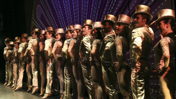 The cast of the 2006 revival of A Chorus Line. Donald Bowers/Getty Images hide caption  sc 1 st  NPR & The Theatrical Curtain Call: More Than Just Bows : NPR