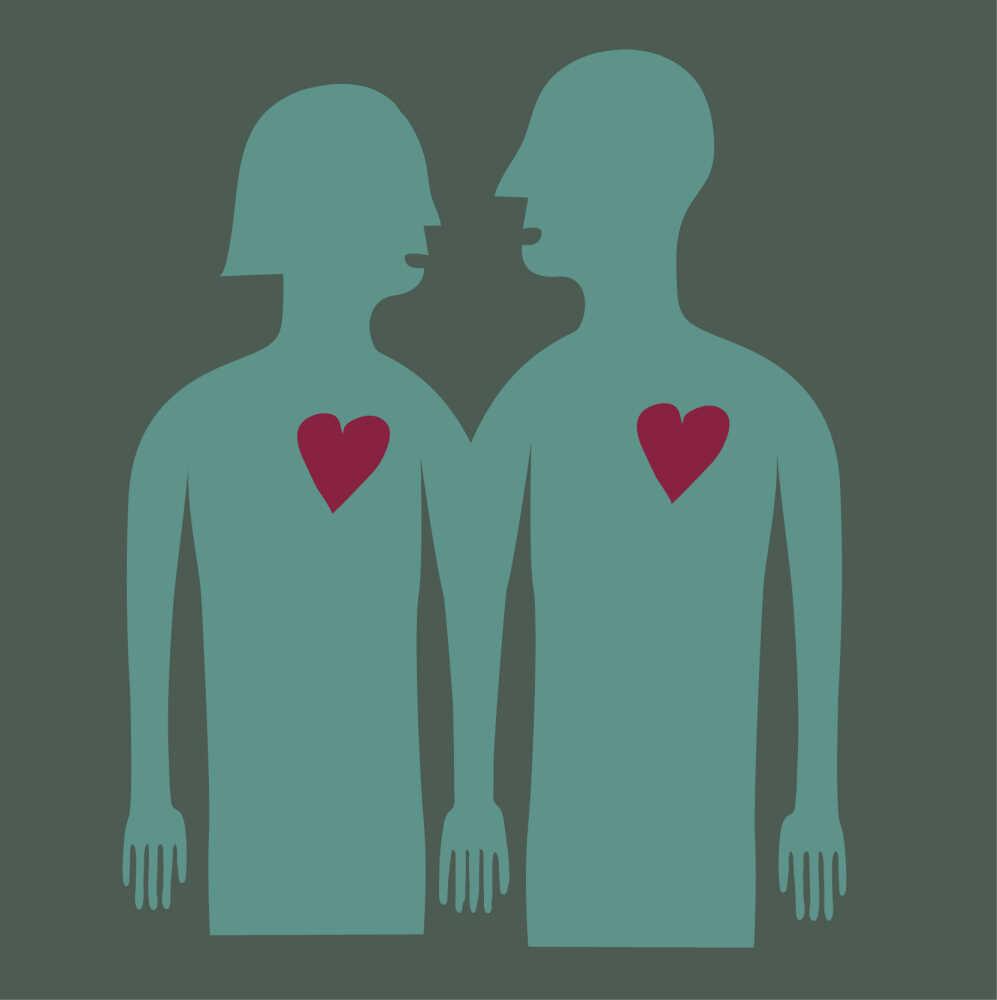 Lovers argue.