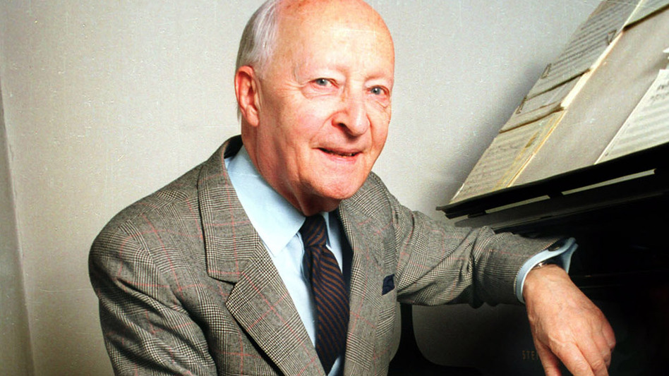 Pioneering Polish composer Witold Lutosławski struggled to find his musical voice.  (Wikimedia Commons)