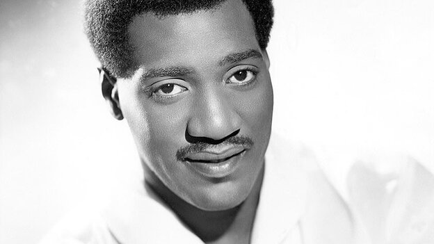 An early promotional photo of Otis Redding, circa 1966.