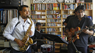 Rudresh Mahanthappa performs a Tiny Desk Concert with his band at the NPR Music offices on Feb. 1, 2012.