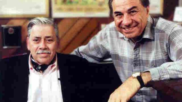 Robert Sherman (left) and his brother Richard in a documentary of their life and songs, The Boys: The Sherman Brothers' Story.
