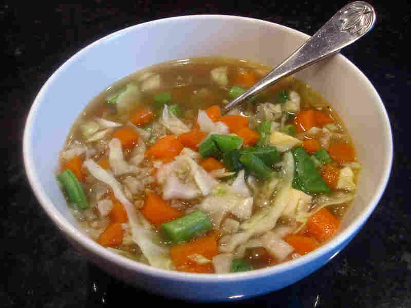 Back-Of-The-Refrigerator Soup