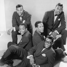 Paul Williams, Eddie Kendricks, and David Ruffin of the Temptations, in 1965.