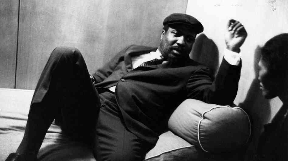 Thelonious Monk at rest.