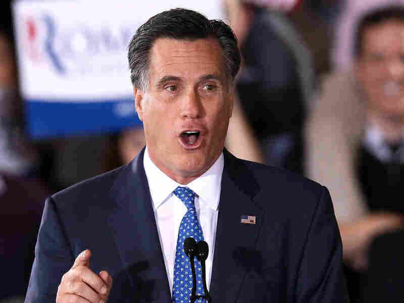 Republican presidential candidate Mitt Romney speaks during a Super Tuesday event March 6, 2012 in Boston, Massachusetts. Romney won six of the ten states that voted on Super Tuesday. However, the Republican nominating contest may be far from over.