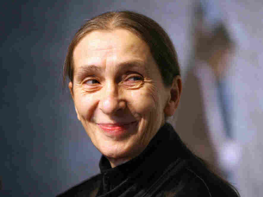 The late German choreographer Pina Bausch, at a Berlin media appearance in 2