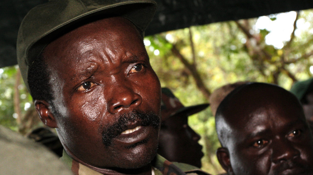 The leader of the Lord's Resistance Army, Joseph Kony, in 2006. (AP)