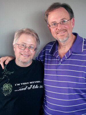 Les and Scott GrantSmith visited StoryCorps in San