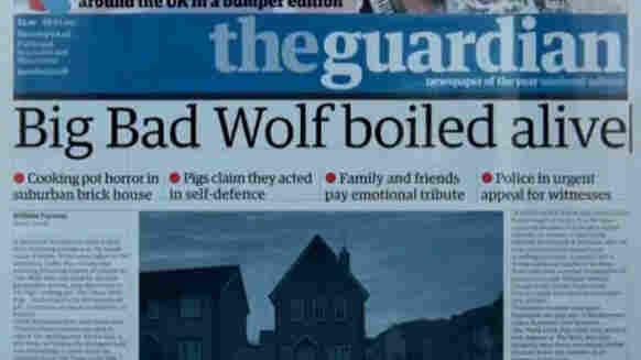 Big Bad Wolf boiled alive headline