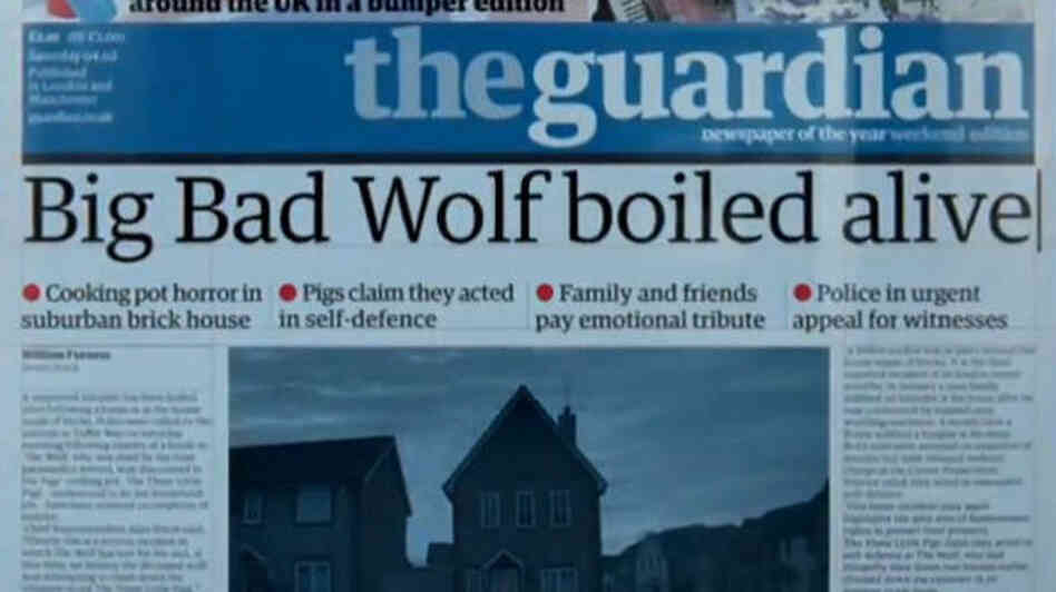 Big Bad Wolf boiled alive headline