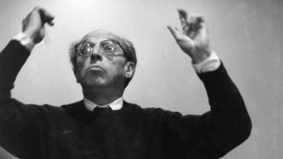 Composer Aaron Copland in 1962.