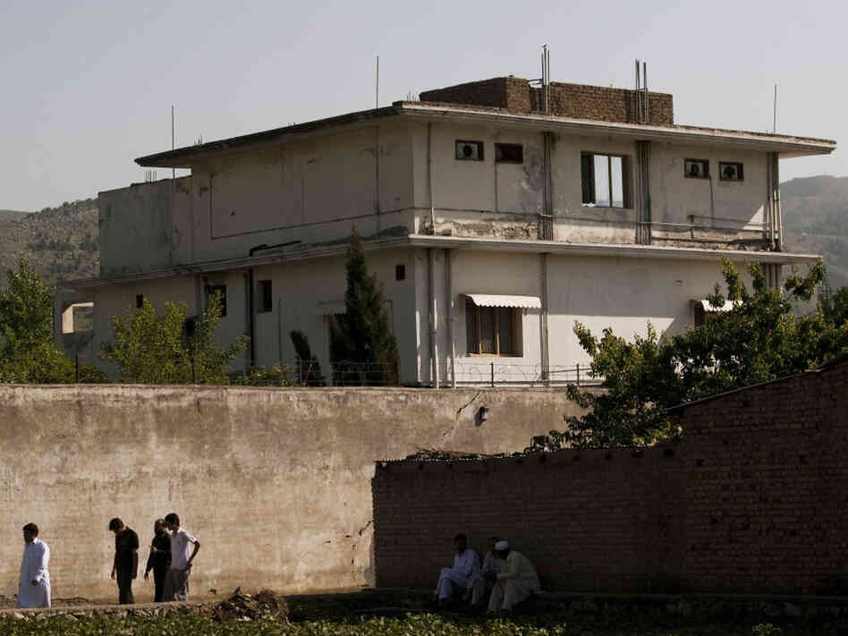 Inside Bin Laden's House, 'A Fading Splash Of Blood' : The ...