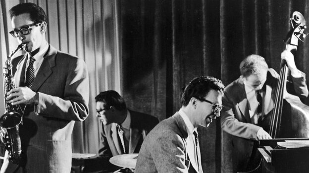 The Dave Brubeck Quartet performs.
