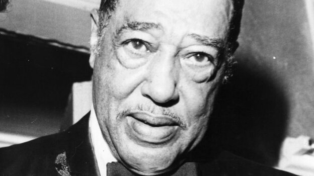 Legendary big band leader and jazz pianist Duke Ellington.