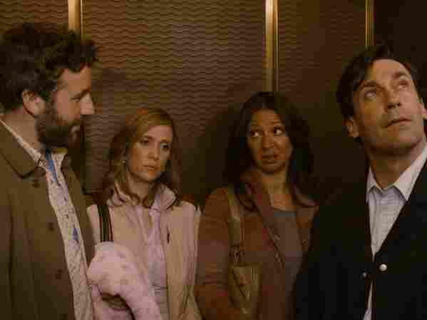 Chris O'Dowd, Kristen Wiig, Maya Rudolph and Jon Hamm play characters whose own relationships contrast with that of friends Julie (Jennifer Westfeldt) and Jason (Adam Scott)