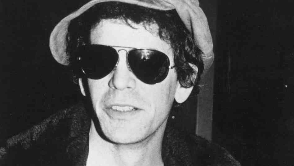 Lou Reed of the Velvet Underground.