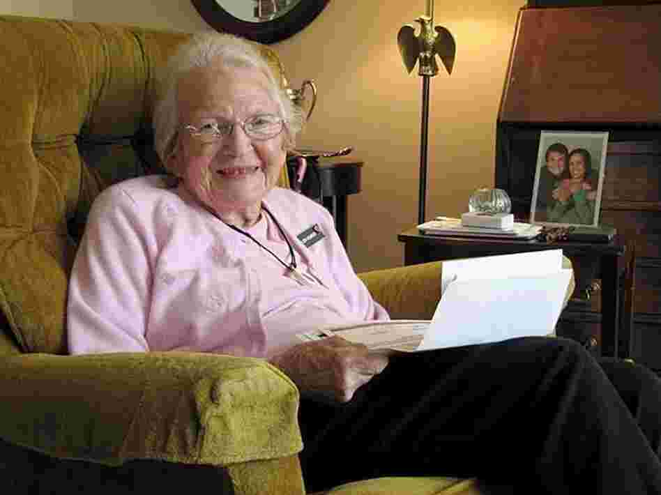 Helen Hobbs, 93, is one Oregonian who has taken advantage of a standardized form to legally record her wishes for end-of-life care.