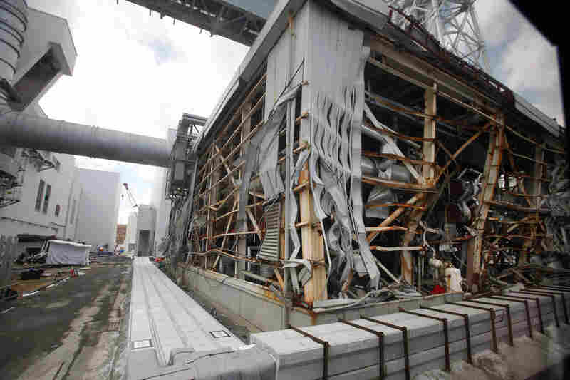The 45-foot tsunami wave severely damaged the reactor buildings, flooding underground spaces and disabling backup generators.