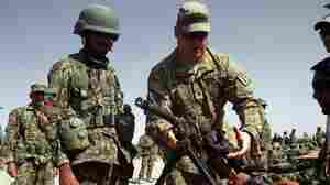 U.S., Afghan Forces Try To Rebuild Trust