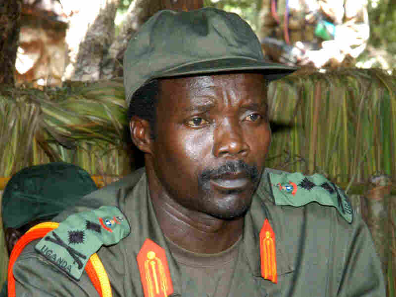 Joseph Kony in southern Sudan in 2006. His exact whereabouts today are unknown.