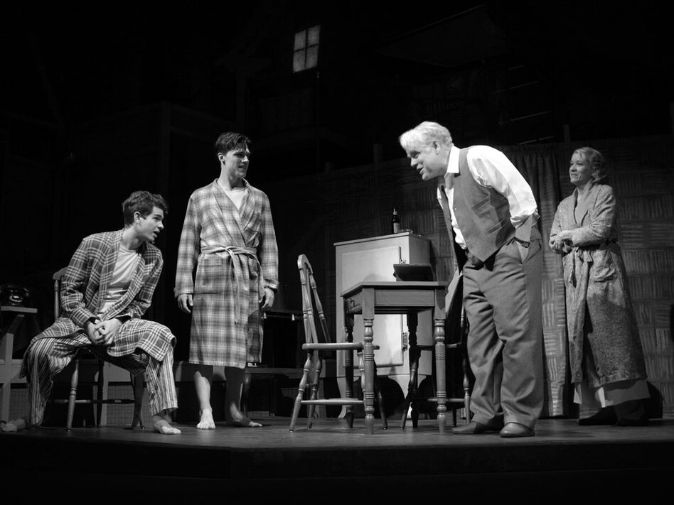 the role of a father in death of a salesman by arthur miller
