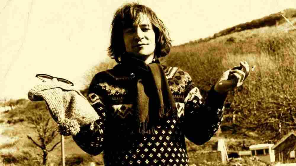 Welsh singer songwriter Meic Stevens.
