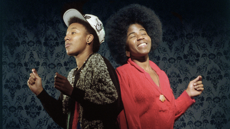 THEESatisfaction's new album, Awe Naturale, comes out March 27. (Courtesy of the artist)