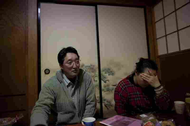 Shito and his wife, Sayomi, 46, speak about their daughter, often pausing to weep. They blame the school system, saying the teachers were not trained for tsunami evacuation.
