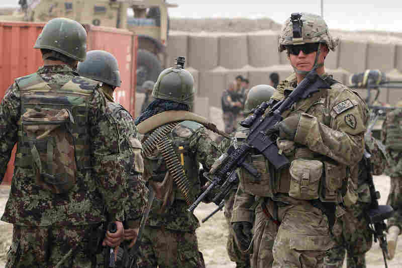 The killing spree has deepened a crisis between U.S. forces and their Afghan hosts over Americans burning Muslim holy books on a base in Afghanistan.