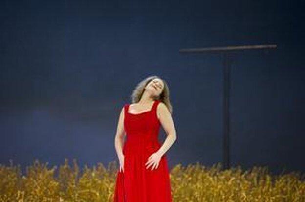 """Leos Janacek's """"Jenufa"""" is showing now at the Deutsche Oper Berlin."""
