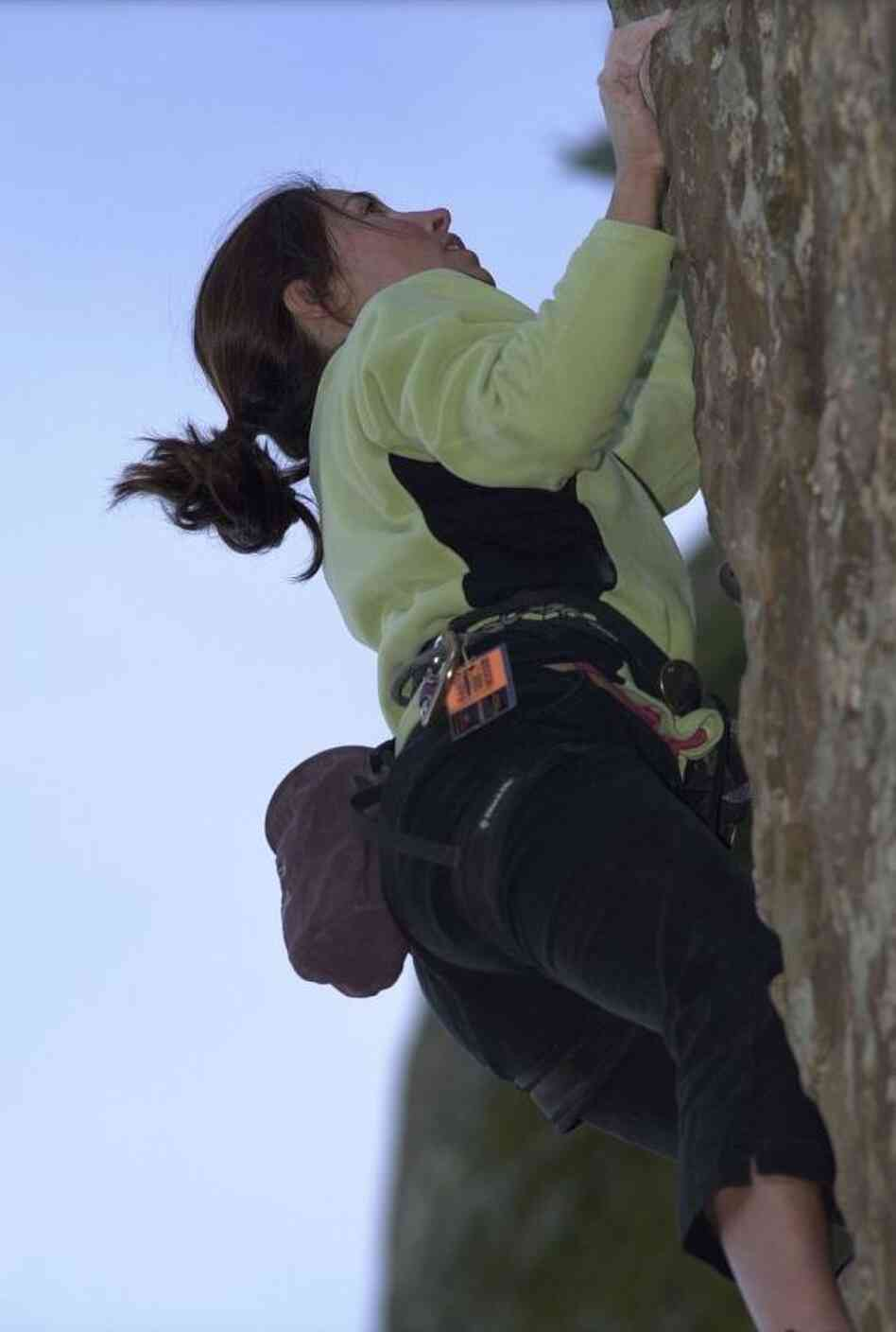As a rock climber, Backcountry CEO Jill Layfield says mov