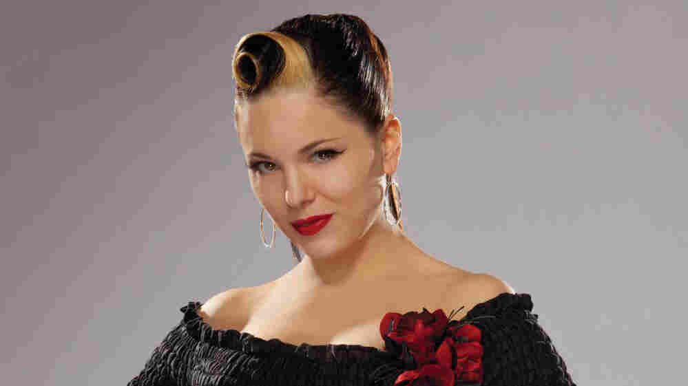 Irish rockabilly singer Imelda May.