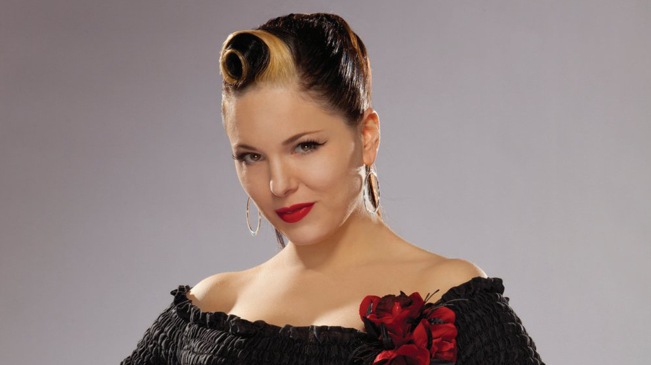 Irish rockabilly singer Imelda May. (Courtesy of the artist)