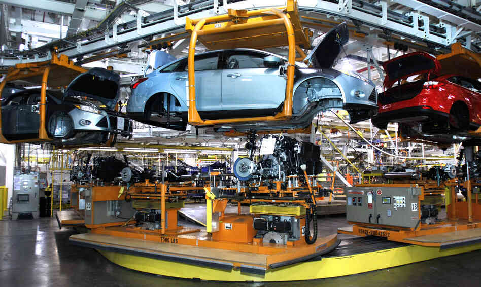 Auto parts suppliers hiring as fast as they can npr for Ford motor company wayne mi