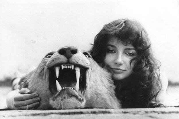 Kate Bush, c. 1978.