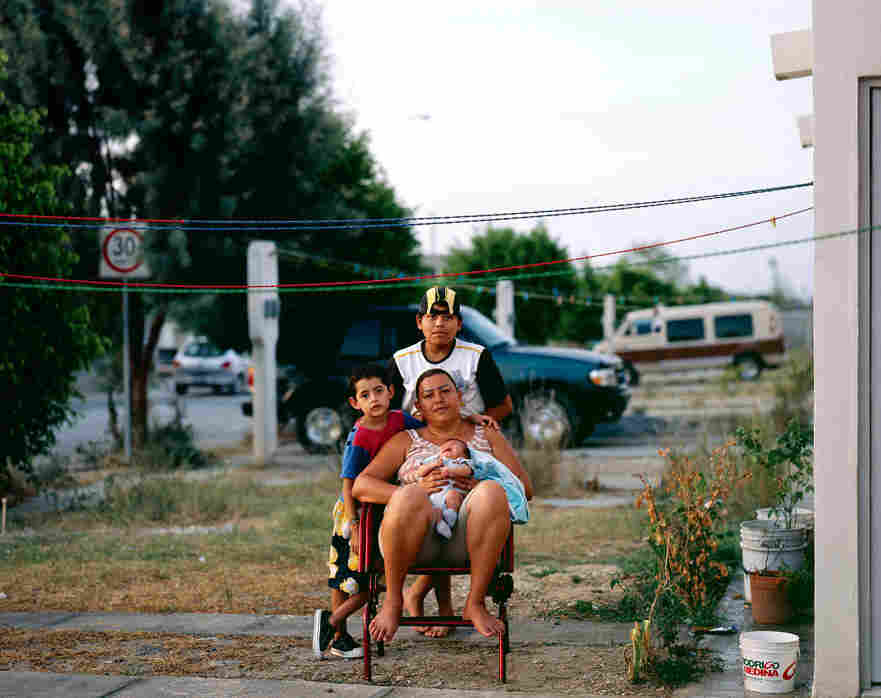 Cartagena also uses portraits in his series Suburbia Mexicana to give a more human lay of the land.